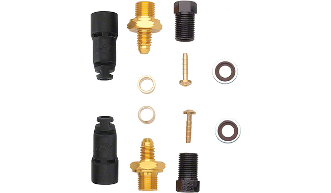 Адаптер JAGWIRE HYFLOW Quick-Fit Fittings HFA801 - Tektro 0-degree