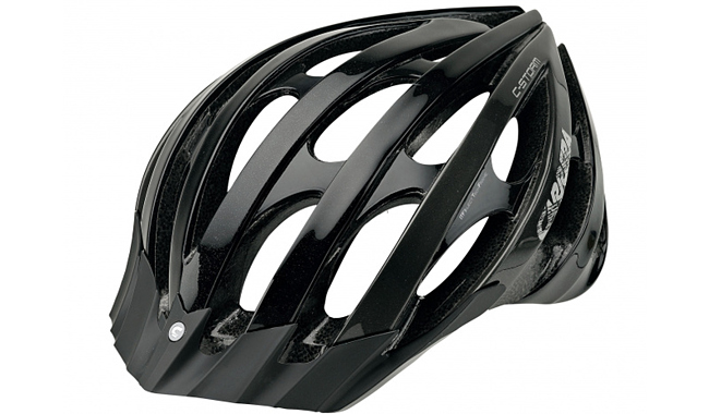 Carrera шлем MTB C-STORM Black Grey Shiny (2012) 9FD5457
