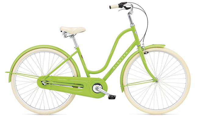 Велосипед Electra Amsterdam Original 3i Al Ladies' Spring Green