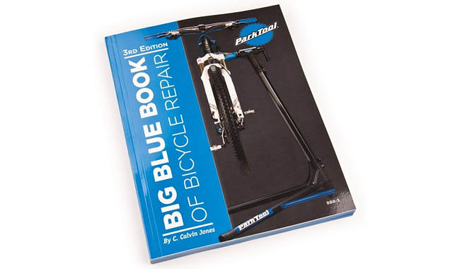 Книга Park Tool по ремонту велосипедов The Big Blue Book of Bicycle Repair