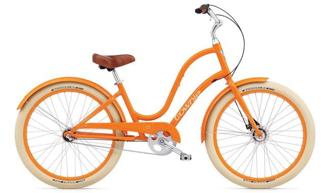 Велосипед Electra Townie Balloon 3i Ladies' Tangerine