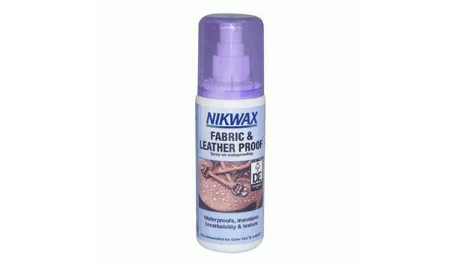 Fabric & leather spray 125ml (ткань и кожа) (Nikwax)