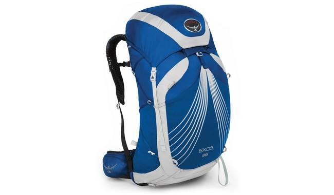 Рюкзак Osprey Exos 38 Pacific Blue синий