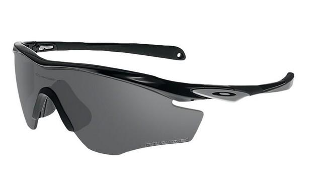 Маска M2 frame polished black  black iridium polarized