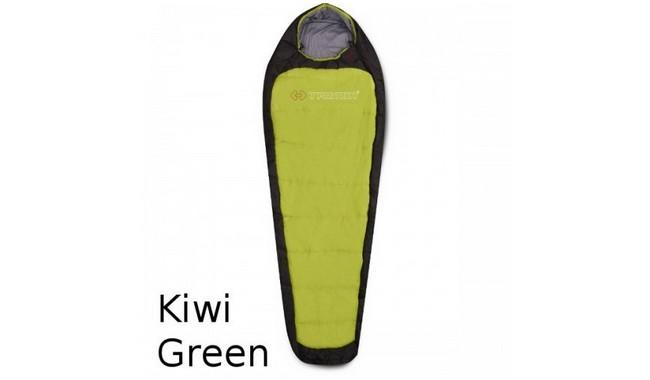 Спальник Trimm IMPACT kiwi green / dark grey правая змейка