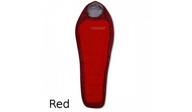 Спальник Trimm IMPACT red / dark red правая змейка