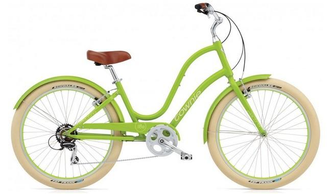Велосипед Electra Townie Balloon 8D Ladies' Lime