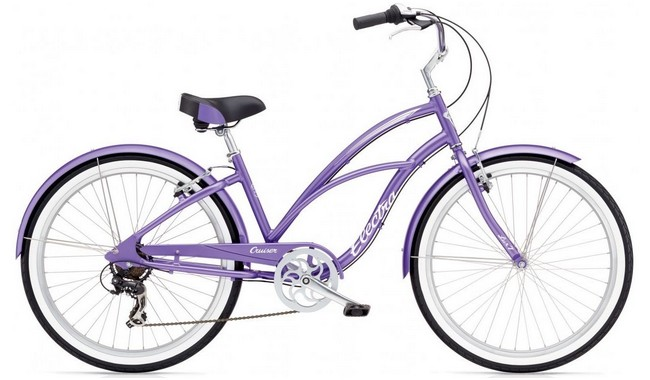 Велосипед Electra Cruiser Lux 7D Ladies' Purple Metallic