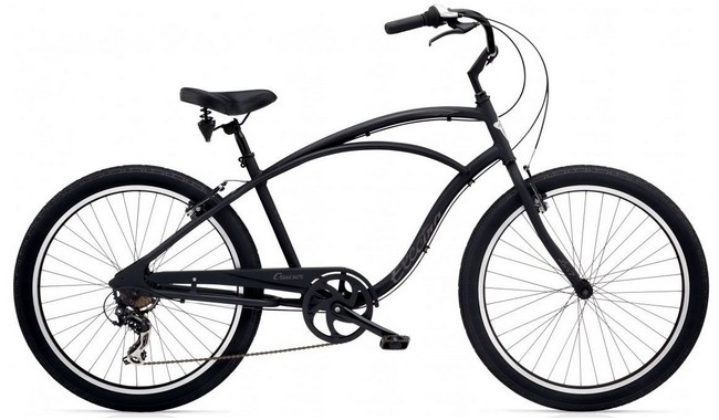 Велосипед Electra Cruiser Lux 7D Men's Black Matte