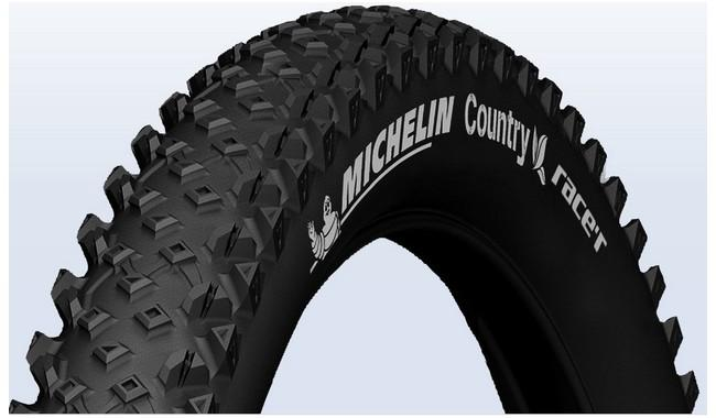 Покрышка Michelin COUNTRY RACE'R 54-559 (26X2.10) МТВ, черный