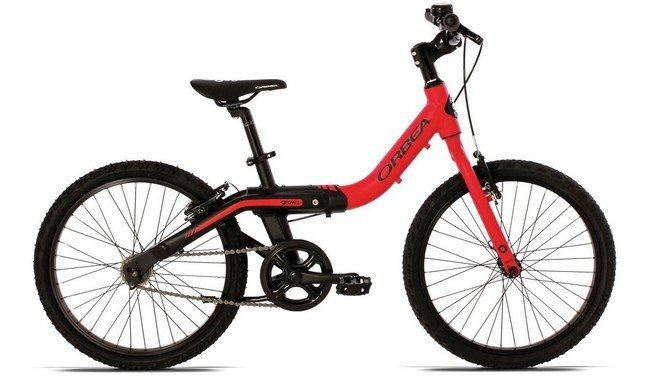 Велосипед Orbea Grow 2 1V 2016 Red-Black