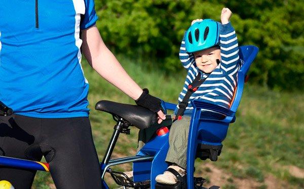 Выбор детского кресла на велосипед