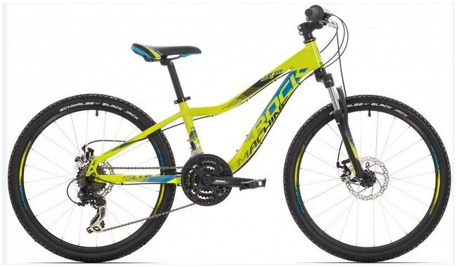 Велосипед Rock Machine STORM 24 yellow/blue/black