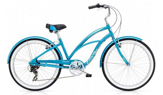 Велосипед Electra Cruiser Lux 7D Ladies' Blue Metallic