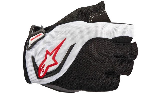 Полуперчатки Alpinestars Pro-Light White