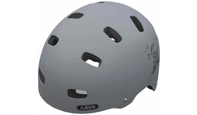 Детский шлем Abus SCRAPER KID v.2 grey ride S (51-55)