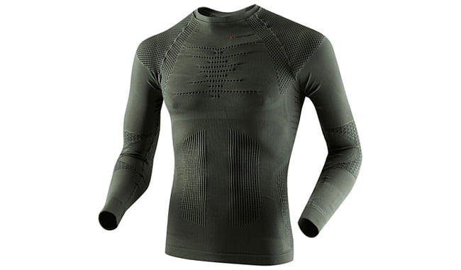 Термофутболка X-Bionic Hunting Shirt Long Sleeves Round Neck - фото 1